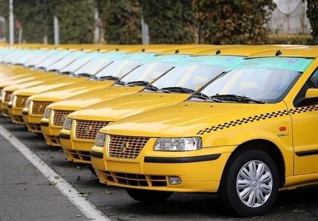 ۴۶۰۰ تاکسی با استاندارد یورو۴ شمارهگذاری شد