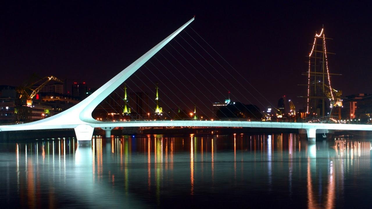 پل لا موهر (El Puente de la Mujer) - آرژانتین
