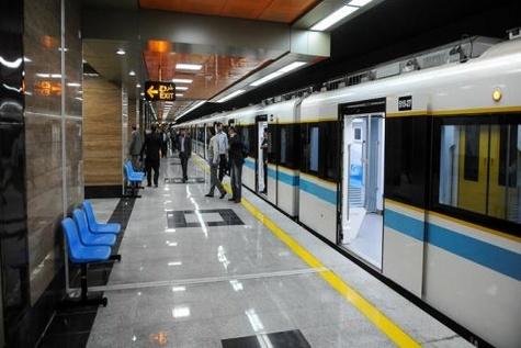 مشکل مترو در خط 5 بالاخره حل شد