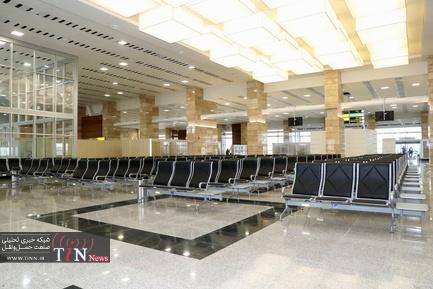افتتاح ترمینال یک فرودگاه اردبیل و فاز اول بهسازی عوامل پرواز این فرودگاه