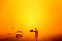 هجوم گرد و غبار به خوزستان