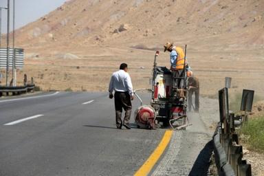 800 کیلومتر از محورهای استان مرکزی خط کشی شد
