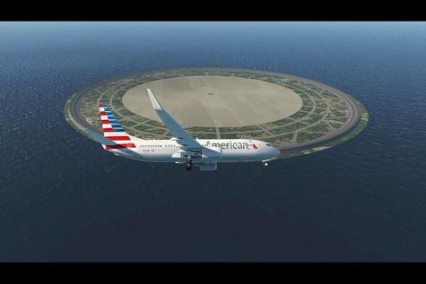 تحول در هوانوردی با ساخت فرودگاه های دایره ای در پروژه Endless runaway