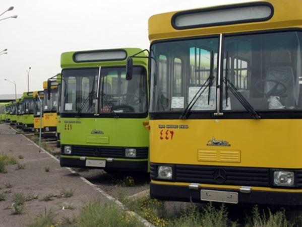 سرویسدهی ناوگان اتوبوسرانی مشهد در تعطیلات متوقف شد