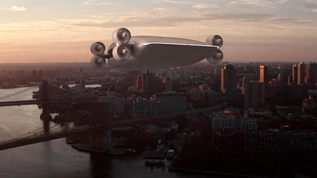 هواپیمای بدون بال با توانایی حمل ۴۰ مسافر!
