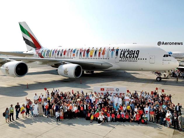 هواپیمایی امارات رکورد جدیدی را به نام خود ثبت کرد