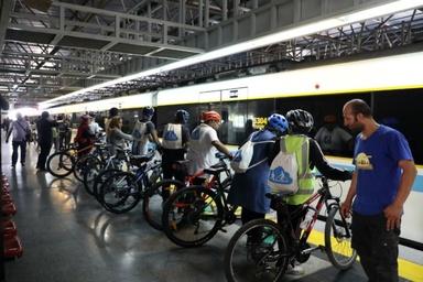 پای دوچرخه ها به مترو تهران باز شد