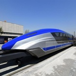 600 km/h maglev prototype unveiled