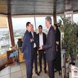 بازدید مدیرعامل و رئیس هیاتمدیره از برج مراقبت فرودگاه مهرآباد