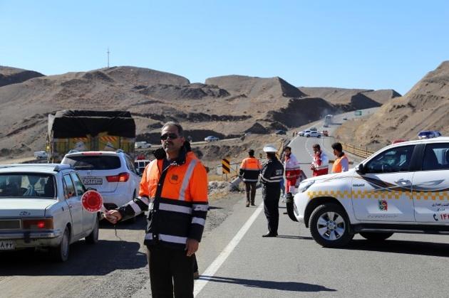 برگزاری مانور انسداد پل سید جلال در محور باغچه-تربت حیدریه
