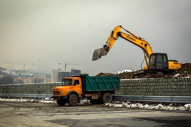 ساخت قطعه ۲ آزادراه تهران-شمال سرعت گرفت