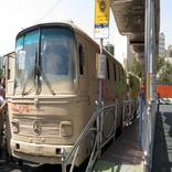 حرکت نمادین کاروان اتوبوسهای شرکت واحد در هفته دفاع مقدس