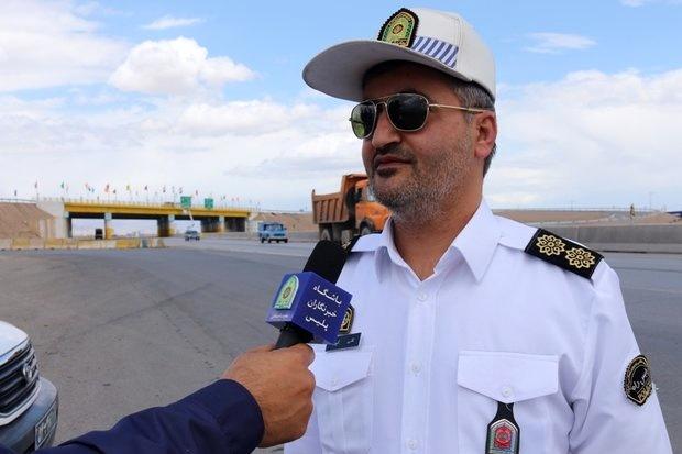 ترافیک روان در محورهای مواصلاتی استان سمنان/ مردم در خانه بمانند