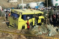Bus rollover crash at university in Tehran kills 7