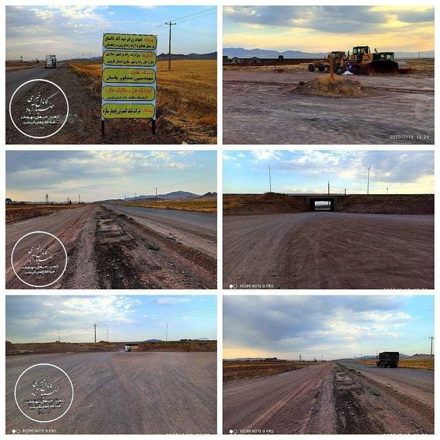 پروژه احداث زیرگذر ضــیــاءآبـاد_تـاکستان آغاز شد