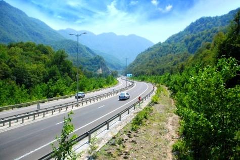 پیشرفت ۱۰ درصدی پروژه ملی تعریض جاده ساری - تاکام