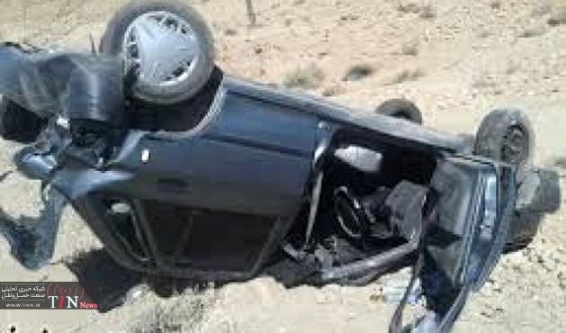 چهار کشته در واژگونی خودرو در جاده بجستان - فردوس