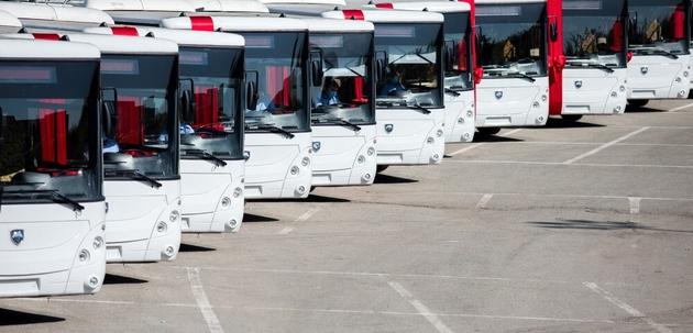 ورود اتوبوس های برقی جدید به تهران