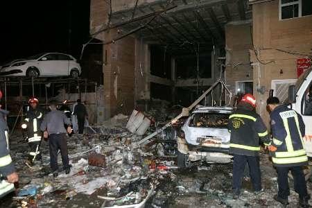 انفجار دریک فروشگاه شیراز با 37 مجروح