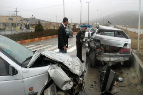 سانحه رانندگی درمسیرهای ارتباطی زنجان چهار کشته گرفت
