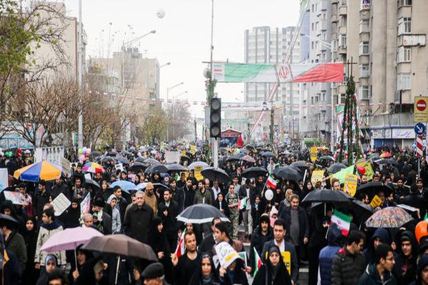 اعلام مسیرهای دوازدهگانه راهپیمایی۲۲ بهمن