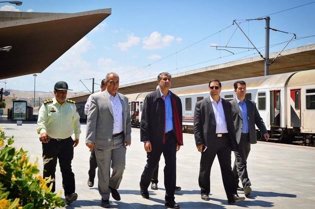 بازدید سرزده اسلامی از راهآهن آذربایجان