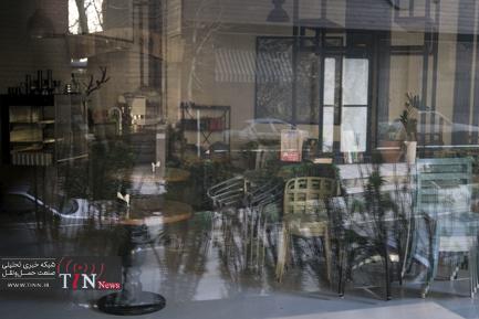 کافه های تعطیل و خالی در روزهای کرونایی تهران