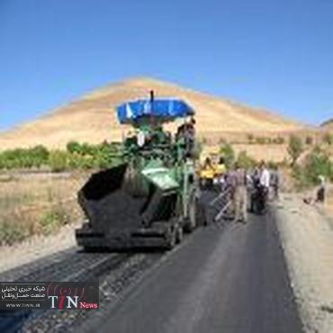 لکه گیری راه های استان قزوین در اردیبهشت سال جاری