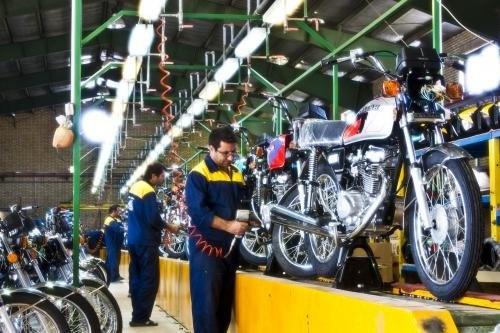 رفتارهای نمایشی در تولید موتورسیکلت