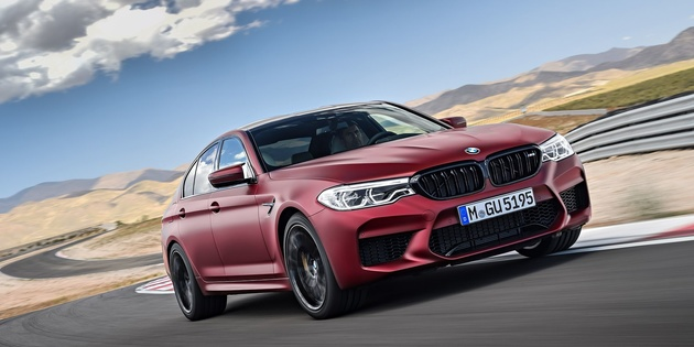 2018 BMW M5: Here It Is, With 600 HP and All-Wheel Drive
