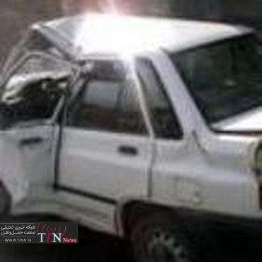 یک کشته و ۵ زخمی در سانحه رانندگی محور اراک - خمین