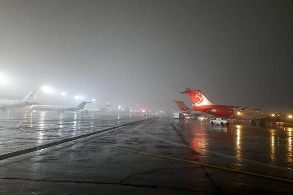 پروازهای فرودگاه مهرآباد به حالت عادی برگشت