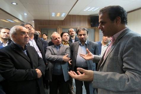 بازدید معاون وزیر صنعت ، معدن و تجارت از منطقه ویژه اقتصادی بندر امیرآباد