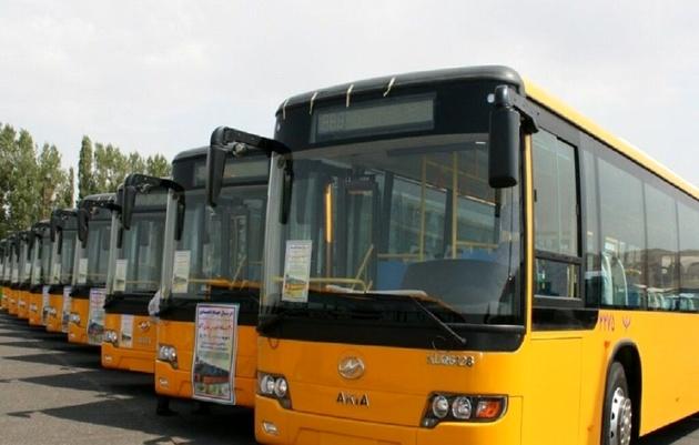100 اتوبوس شهری مشهد به نجف اعزام شد