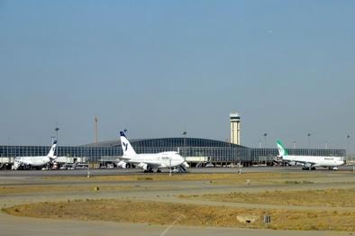 کاهش ۳۳ درصدی پروازهای فرودگاه امام در سال 97