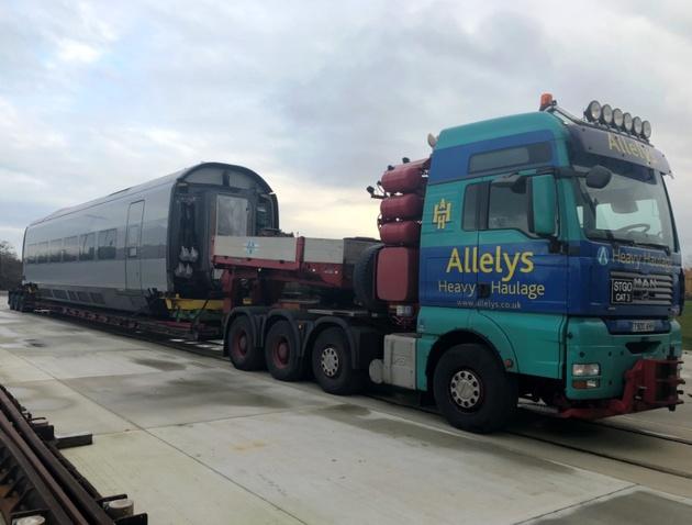 AGV demonstrator car arrives in Doncaster