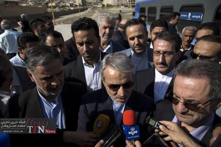 بازدید معاون رئیس جمهوری از پروژه چهار خطه تهران - پیشوا - گرمسار