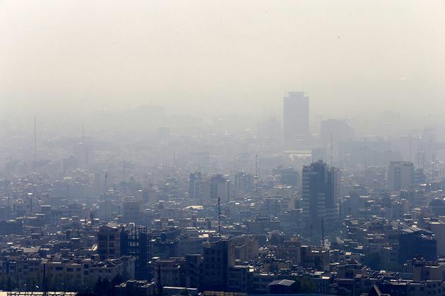 استمرار آلودگی هوای تهران تا پایان هفته