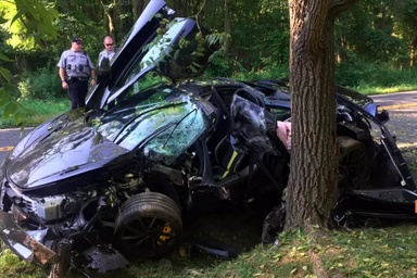 McLaren 720S Totaled Less Than One Day After Delivery