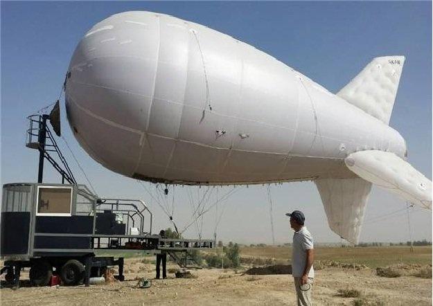 استفاده از بالنهای اینترنتی در مرزهای مهران، چزابه و شلمچه