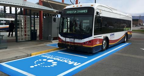 افتتاح ایستگاه شارژ بیسیم اتوبوسهای برقی BYD در واشنگتن