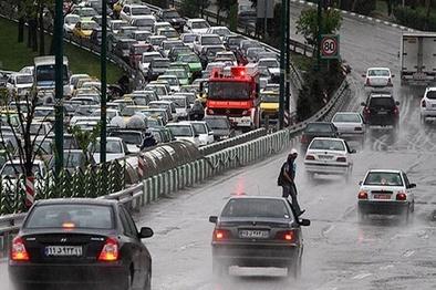 پیش بینی بارش باران، برف و تگرگ در ۲۶ استان تا یکشنبه