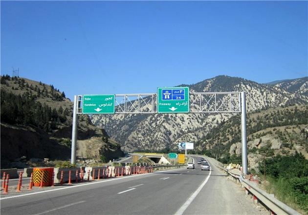 پیشرفت بیش از 90درصدی قطعه یک آزاد راه تهران شمال