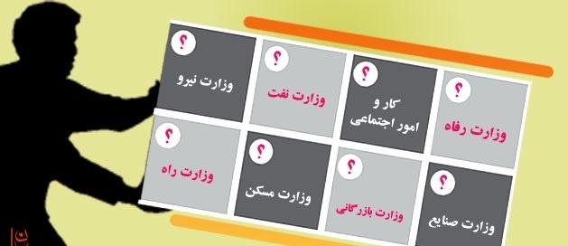 انصراف از تجزیه وزارتخانهها
