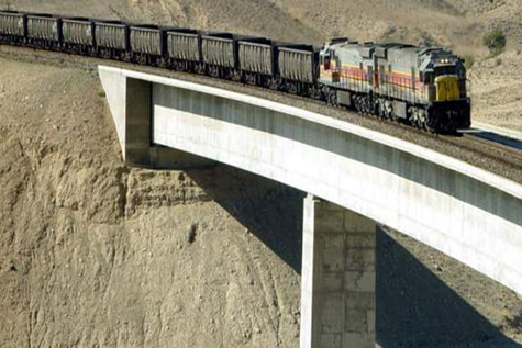 محور بافق - جندق رسماً تحویل راهآهن یزد شد
