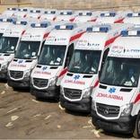 5هزار 500 دستگاه آمبولانس در زمستان به مردم خدمات می دهند5