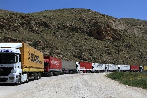 جابهجایی بیش از سه میلیون تن کالا درمحورهای استان کرمانشاه