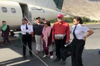 خلبان زن پاکستانی که تحسین همگان را برانگیخت