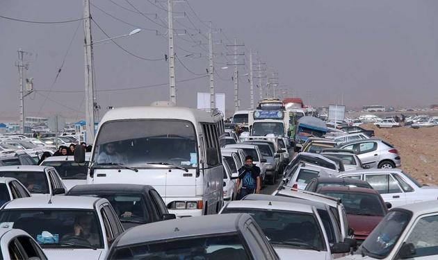 محدودیت ترافیکی در شلمچه و چذابه تا چهار روز دیگر ادامه دارد