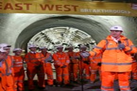 Tunneling works completed for UKs £۱۴.۸bn Crossrail project